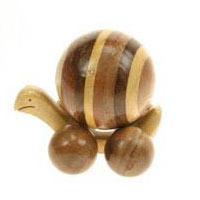 Small mixed wood snail