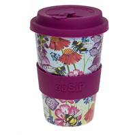 Rice husk cup 14oz, busy bees