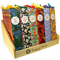 "Display stand for 72 packs ""Little Pleasures"" incense"