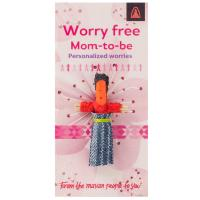 Worry doll, mom to be worries