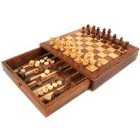Chess & backgammon set 25x25cm