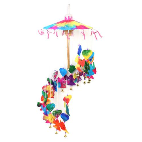 Rainbow Angels Paper Mobile