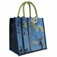 Jute shopping bag, moonlight