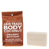 Bath soap, Organic Cold Pressed Coconut Oil 100g