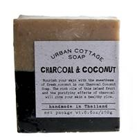Soap 250g charcoal & coconut