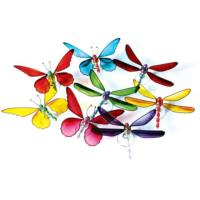 Pack of 24 assorted butterflies and 24 dragonflies