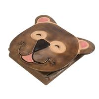 Leather coin purse koala