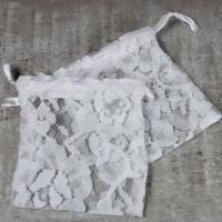 Organza lace drawstring bags, pack of 100