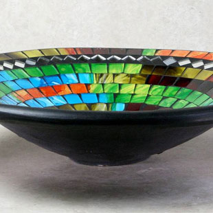 Mosaic Bowls and Plates