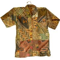 Patchwork shirt medium