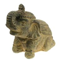 Incense holder, sandstone elephant