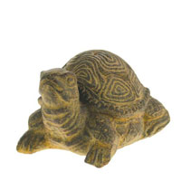 Incense holder, sandstone tortoise