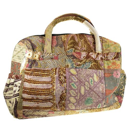 Patchwork travel bag 60x37cm