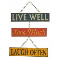 Live Well Hanging Panels