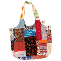 Beach bag kantha with zip assorted