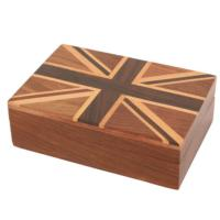 Union Jack card box 7.5x11cm