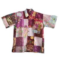 Patchwork shirt small