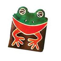 Leather coin purse frog