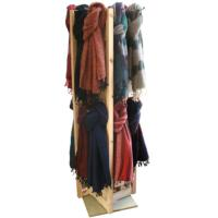 Scarves 32 each FN1105 & FN1106 with wooden display stand