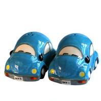 Salt and pepper set, bubble car, assorted colours