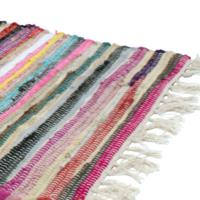 Rag rug 240x75cm assorted colours
