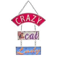 "Hanging ""Crazy Cat Lady"""
