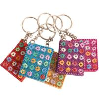Keyring lac notebook asst colours