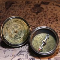 Pocket compass boy scouts