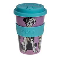 Rice husk cup 14oz, walkies