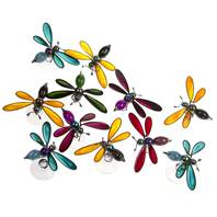 Pack of 48 bees (24 yellow-black, 24 asst colours)