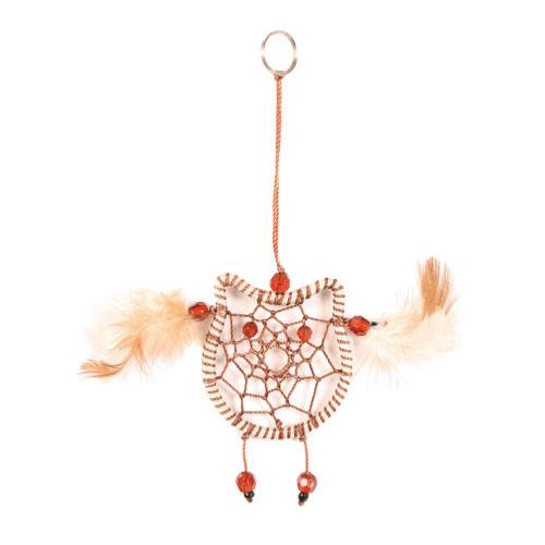 Dreamcatcher brown owl 6cm