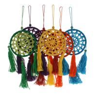 Dreamcatcher crochet tassels asst, 1 supplied