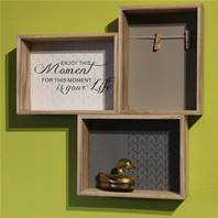 Shelf, 3 compartments