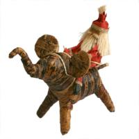 Christmas Tree decoration, Santa on elephant
