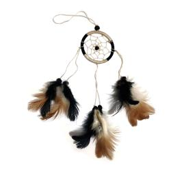 Dreamcatcher cream & black 6cm