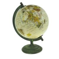 Globe on stand, 25cm height