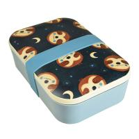 Bamboo lunch box, sloth design