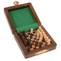 Chess set mini 7.5 x 7.5cm