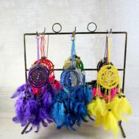 Dreamcatchers assorted colours 6cm, pack of 48
