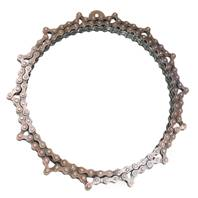 Bike chain mirror, 27cm diameter