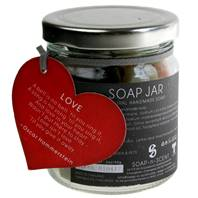 Jar of soaps, love