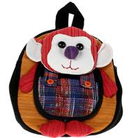 Rucksack monkey, asstd colours