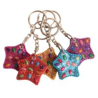 Keyring lac star asst colours