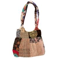 Handbag kantha with zip assorted