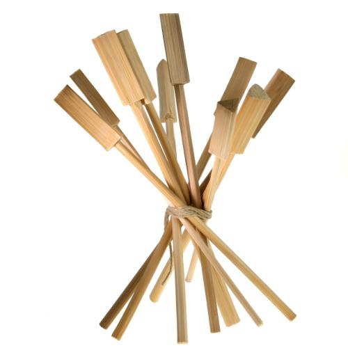 Set of 10 bamboo stirrers