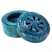 Palewa stone blue box t-lite holder