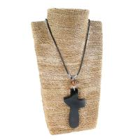 Pendant bone holding cross
