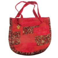 Tote bag kantha pinks, assorted designs