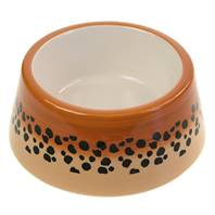 Cat bowl cheetah