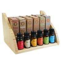 Aroma oil, Organic Goodness, x 18 (+ 6 testers) with display stand